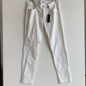 Buffalo White jeans size 30 NWT mid rise skinny